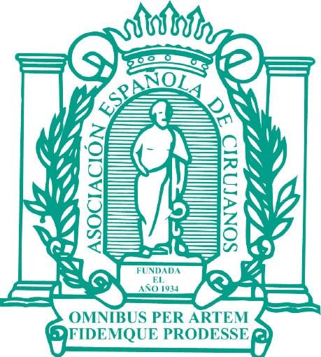 Asociación española de cirujanos logotipo
